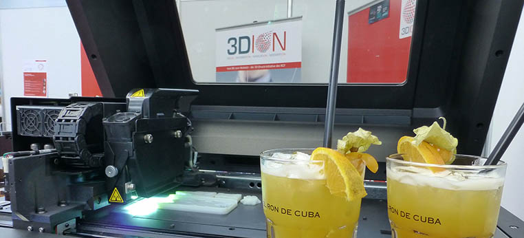 Ebbelwoi meets Kölsch – 3DION@Euromold: »3D Printing meets 2D Printing« mit Epson